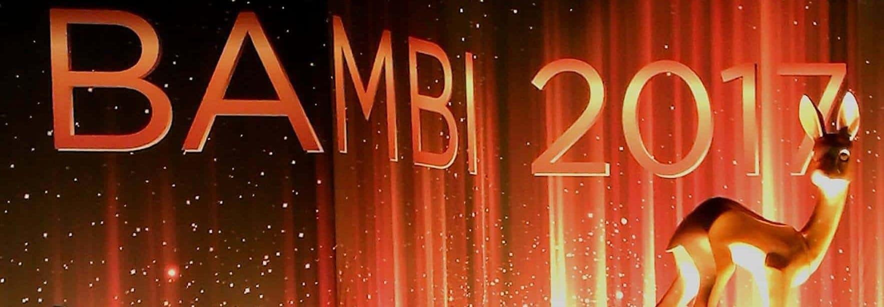 Kreischalarm auf dem roten Teppich der BAMBI Verleihung