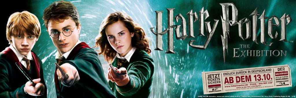 Die Ausstellung Harry Potter The Exhibition Stars And Scenes